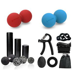 Yoga Foam Roller-Massage Ball /Trigger Point Muscle Massage-Pain Relief