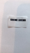 Dinky 100 Lady Penelopes Fab 1 paper sticker number plate set only