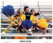 ANIMAL HOUSE great 8x10 color still JOHN BELUSHI with cheerleaders -- n744