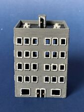 5 Story Apartment Office building Z Scale 3D Printed Made And Designed In USA