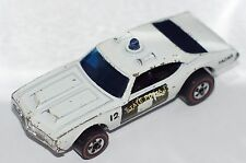 ORIGINAL Hot Wheels Redline - Police Cruiser 12 - Flying Colors - Blue Light