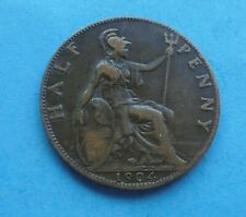More details for 1904 halfpenny, edward vii, as shown.