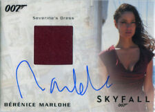 James Bond Archives 2017 Final Autograph Costume Card Berenice Marlohe #32/250