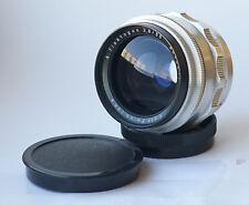 Early Carl Zeiss Jena FLEKTOGON Silver f/2.8 35mm Lens M42 9-blades