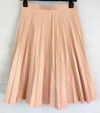 M&S AUTOGRAPH Womens Pink Pleated Party Skirt Size 10