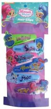 Nickelodeon Shimmer & Shine Hair Clips Accessories 6 pk