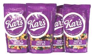 4 Bags Kar's 25 Oz Sweet N Salty Gluten Free The American Trail Mix BB 9/15/2021