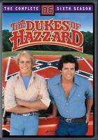 The Dukes of Hazzard: The Complete Sixth Season (DVD,2006) (ward697514d)