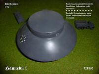 Haunebu I  Flugscheibe 1/72 Bird Models  Resinbausatz  / resin kit