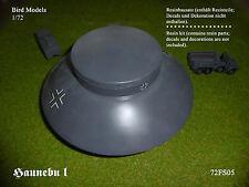 Haunebu i disco di Volo 1/72 Bird models resinbausatz/RESIN KIT