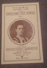 1911 FA CUP FINAL - WH SMITH EDITION -NEWCASTLE UNITED V BRADFORD CITY- COPY -