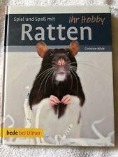 Ratten  ( Buch ) Spiel und Spaß von Christine Wilde , Gebundene Ausgabe NEU