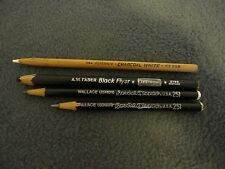 Lot Of 4 Vintage Drawing And Drafting Pencils- Generals, Wallace , Aw Faber