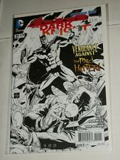 DC New 52 Batman DARK KNIGHT #21 1:25 Sketch Variant NM