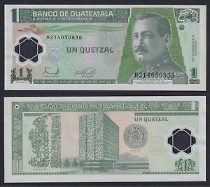 Guatemala 1 quetzal 2006 (Polymer) FDS/UNC  C-08