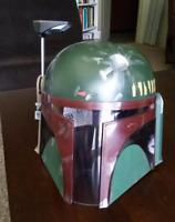 Boba Fett Full Helmet Marvel Adult Mask Costume Cosplay Star Wars Bounty Hunter