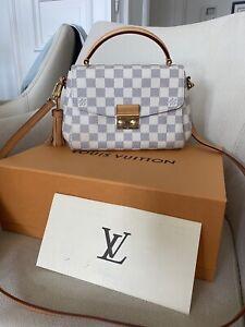 Louis Vuitton Croisette Damier Azur + Rechnung, Box Etc.