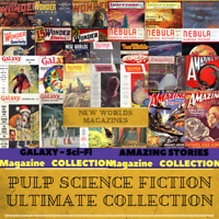 Pulp Science Fiction Ultimate Collection - 2,719 SF PDF Magazines on 1 USB