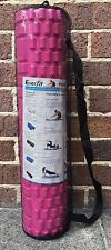 62cm Everfit Grid Foam Roller Pilates Yoga Gym Medium Massage Replication Pink