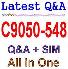 IBM Certified Database Administrator - IBM IMS C9050-548 Exam Q&A PDF+SIM