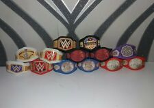 13 WWE Custom Title Belts For Jakks/Mattel Wrestling Figures WWF
