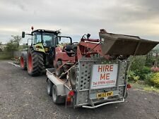 Car Tractor Digger Plant Transporter Hire / Trailer hire