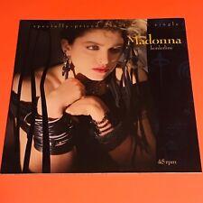 MADONNA BORDERLINE NEW MIX US 12 1984