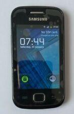 Samsung Gio GT S5560 - Black (Virgin) Mobile Phone