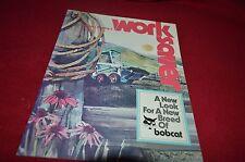 Bobcat Skid Steer Loader Work Saver Vol1 Number 3 Magazine Brochure YABE11 VER90
