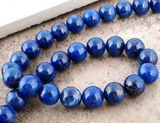 PREMIUM QUALITY LAPIS LAZULI GEMSTONE BEADS 8mm 25 Beads