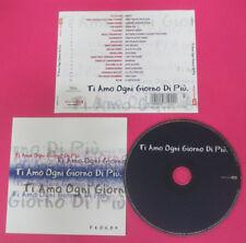 CD Compilation Ti Amo Ogni Giorno Di Piu'RADIOHEAD MARILLION BLUE no lp mc(C42)