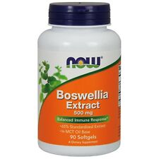 NOW Foods Boswellia Extract, 500 mg, 90 Softgels