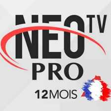 NEO iptv Pro 2 ABONNEMENT 12 mois,smart Iptv, android TV box,mobil......
