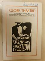 THE WHITE CARNATION - RALPH RICHARDSON MEG MAXWELL MICHAEL NIGHTINGALE