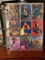94 Fleer Ultra X-Men Trading Cards (1-150), Bonus Fatal Attractions Set (1-6)!
