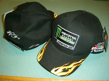 Kyle Busch 2019 Monster Energy 2X Champion M&M'S RACING Flame Hat CFS #G7070 NEW