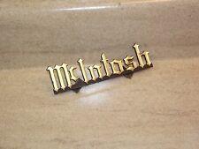 Mcintosh Badge / Logo Part