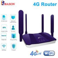 Unlocked 300Mbps 4G LTE Wifi Router Mobile Wireless WiFi Hotspot RJ-45 LAN Port