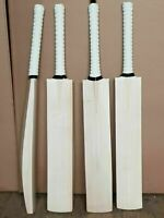 NEW GRADE 1 ENGLISH WILLOW CRICKET BAT KNOCKED IN READY TO PLAY & FREE BAT GRIP