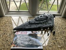 LEGO Star Wars First Order Star Destroyer 2017 (75190) 100% Complete With Manual