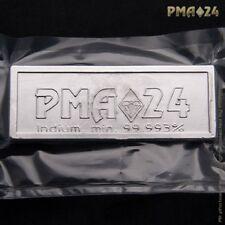 1000 Gramm Indium PMA24 Indiumbarren nach ISO9001 mit Zertifikat des Hertsellers