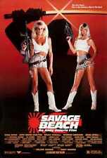 Savage Beach Poster 01 Metal Sign A4 12x8 Aluminium