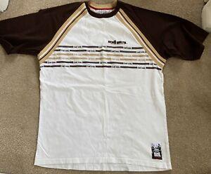 Ecko Unltd Mens White/Brown TShirt - XXL - Used but good condition