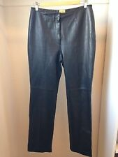 Caston Genuine Lambskin Leather Pants Size 6