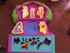 Disney Winnie The Pooh Tree House Stamp Stencil Crayon Art & Craft Set Center