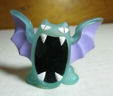 1997 Pokemon Finger Puppet Clear Golbat Figure Catch Them All Nintendo Bandai