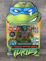 Playmates TMNT 2003 Teenage Mutant Ninja Turtles Fightin' Gear Leo Leonardo NIP