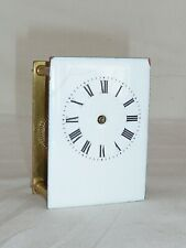 Carriage Clock Movement & Dial For Parts Spares