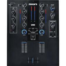 Mixars uno Mixer 2 Canali per DJ con 7 Input Crossfader Galileo Scratch Cut
