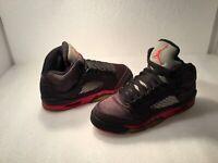 Kid's Air Jordan 5 Retro Athletic Shoes Boy's 5Y Multicolor  #440888-006